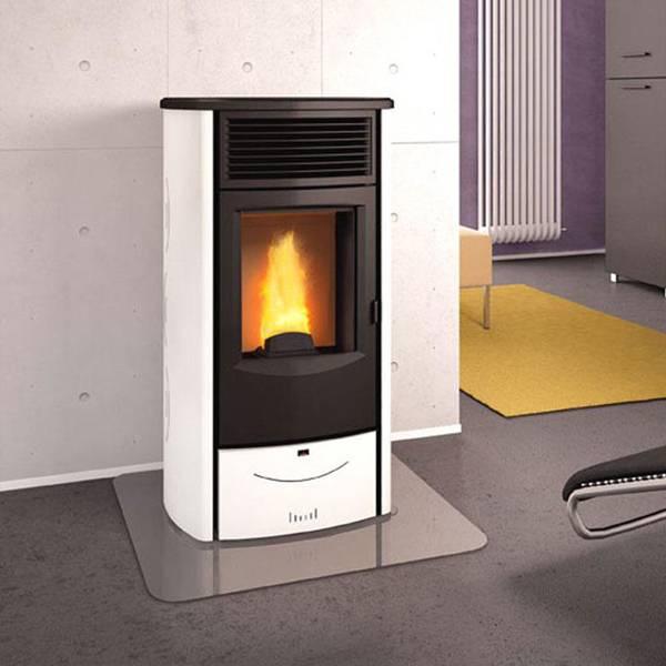 Estufa de pellets sabrina th superior bensal biomasa for Fabricantes de estufas de pellets